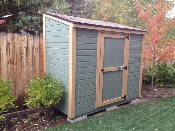 storage shed lean to with single slope roof stor mor sheds idaho - Garden Sheds With Lean To