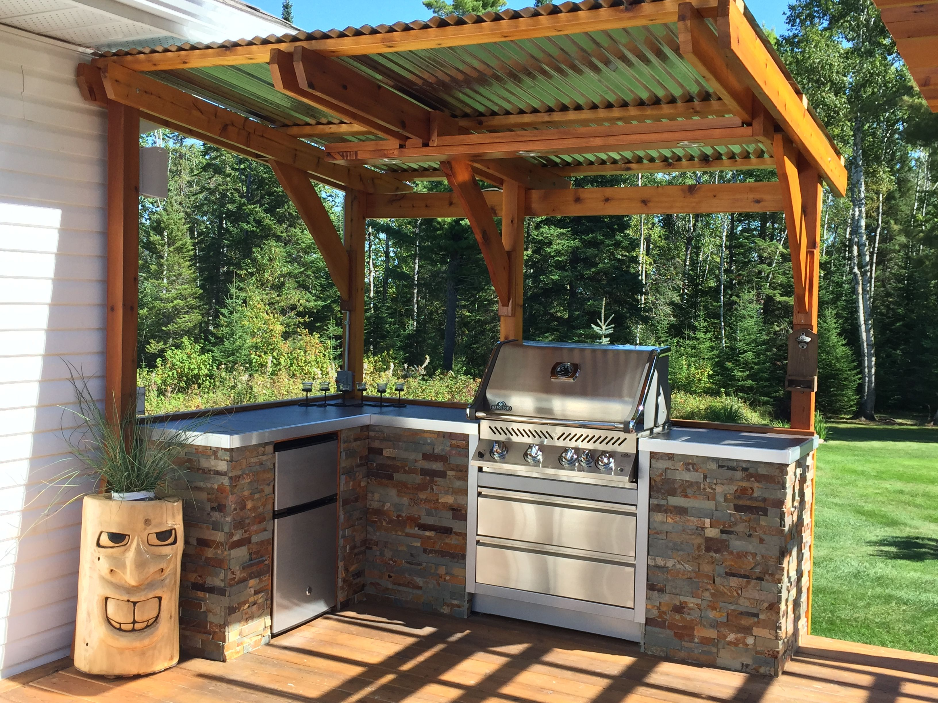 diy outdoor kitchen construction plans go to www diyoutdoorfireplaces com to learn mor on outdoor kitchen yard id=66253