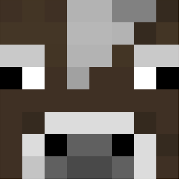 Cow Face Minecraft Face Minecraft Minecraft Quilt