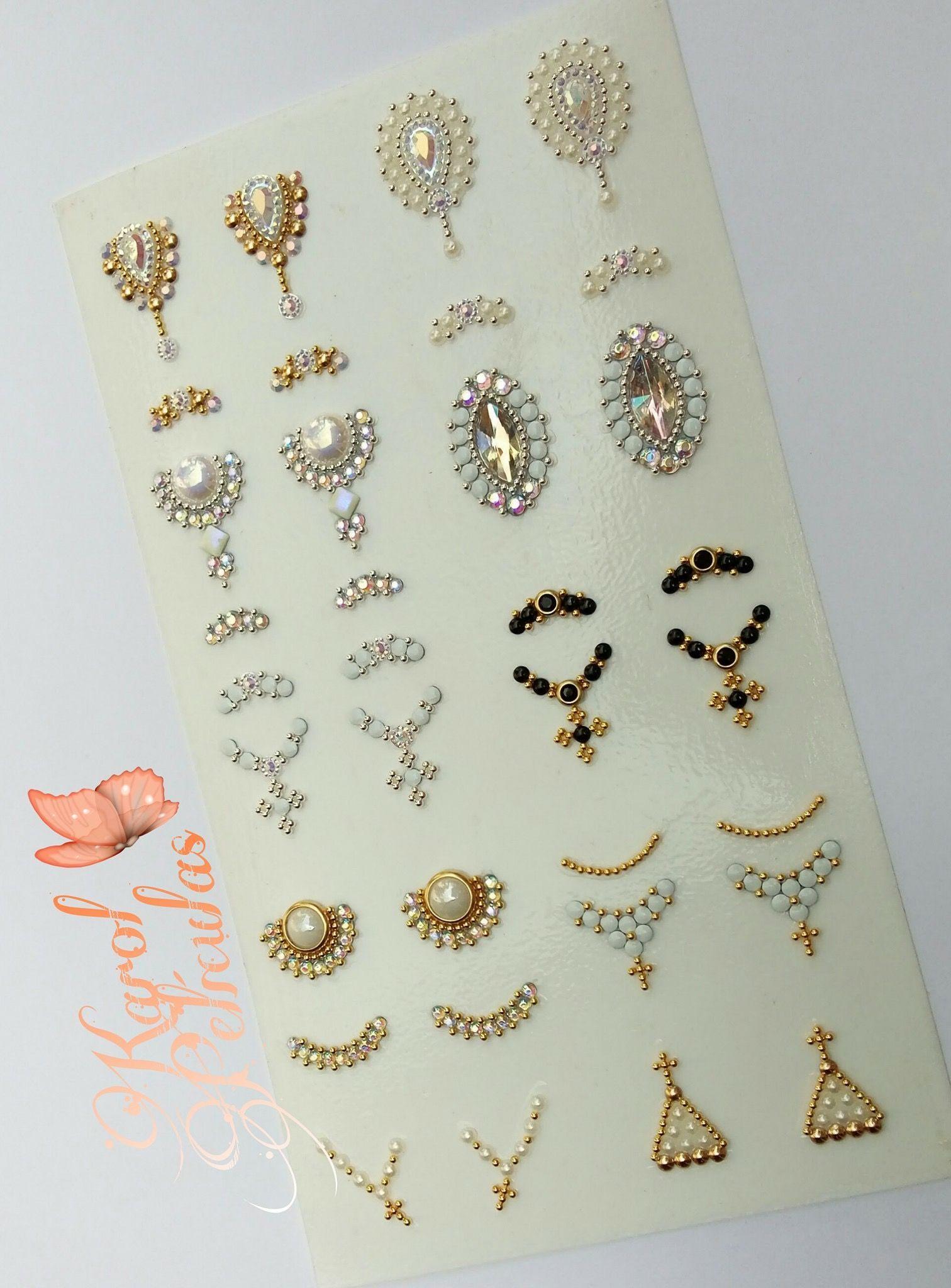 Jóia de unha   joia   Pinterest   Esmalte, Diseños de uñas y Arte de ...
