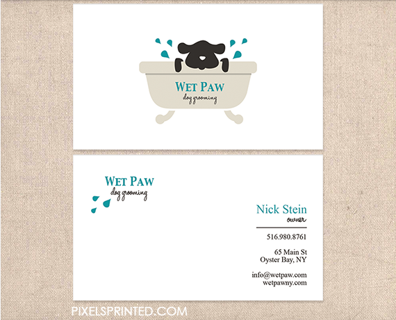 Dog grooming business cards pet hotel and business dog walker business cards pet sitter business cards dog grooming business colourmoves