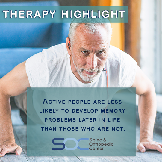 Developing Good Troubleshooting Technique From Network: Therapy Highlight: Active People Are Less Likely To