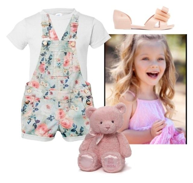 """""""Kids"""" by mbubbles109 on Polyvore featuring Melissa and Gund"""