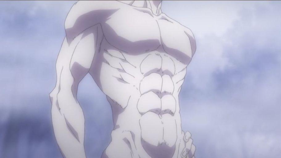 Hisokas Body Hunter X Hunter Hunterxhunter Hisoka Hisoka Hunter Anime