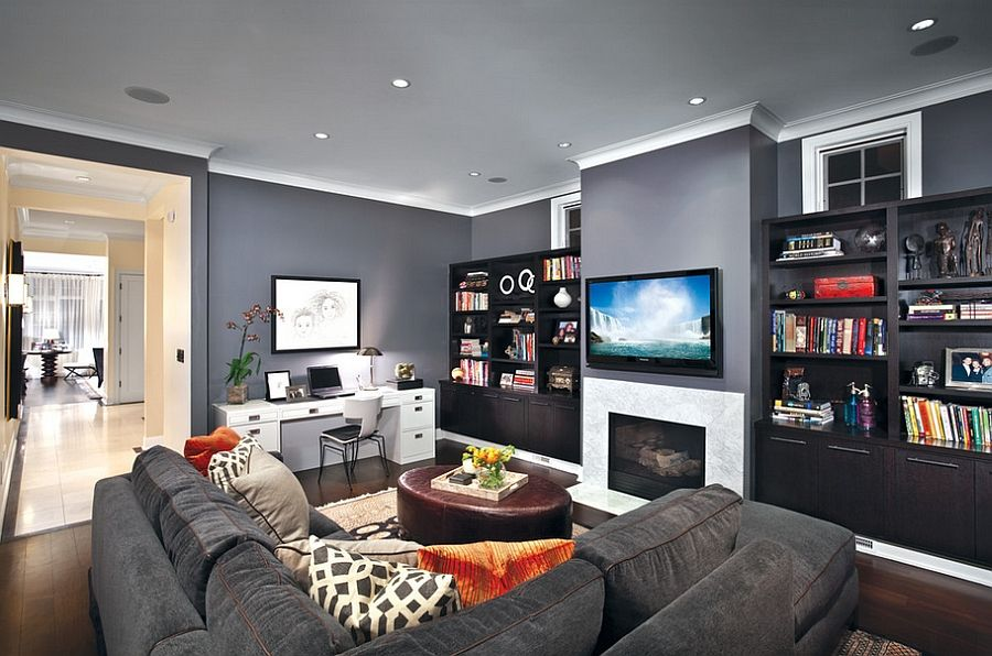Hot Color Trends Of Winter 2015 Ideas Inspirations Desk In Living Room Classic Living Room Discount Bedroom Furniture