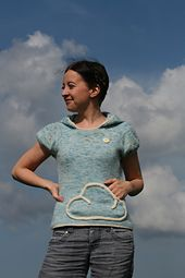 Cloud - kurze Puffärmel