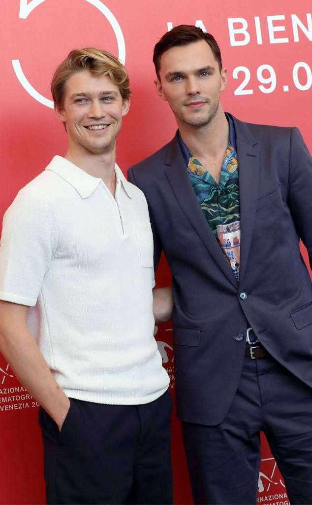 Joe Alwyn & Nicholas Hoult from 2018 Venice Film Festival ...