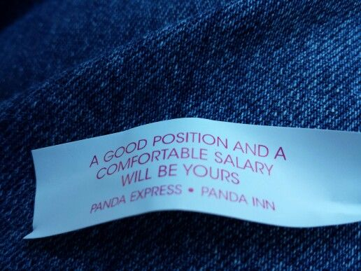 Has anyone ever received a bad fortune in a cookie?