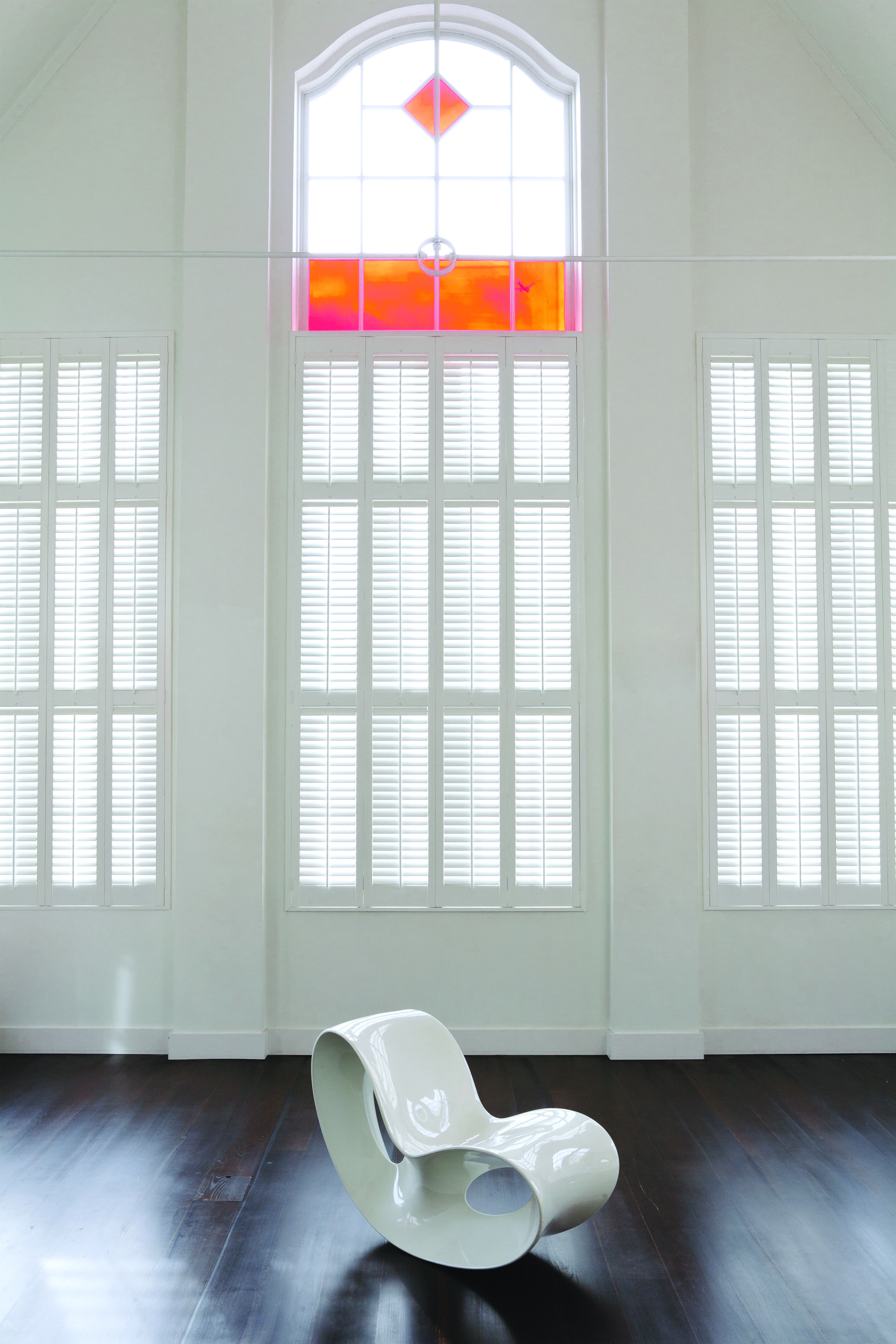 White Shutters Cafe style shutters, Classic shutters