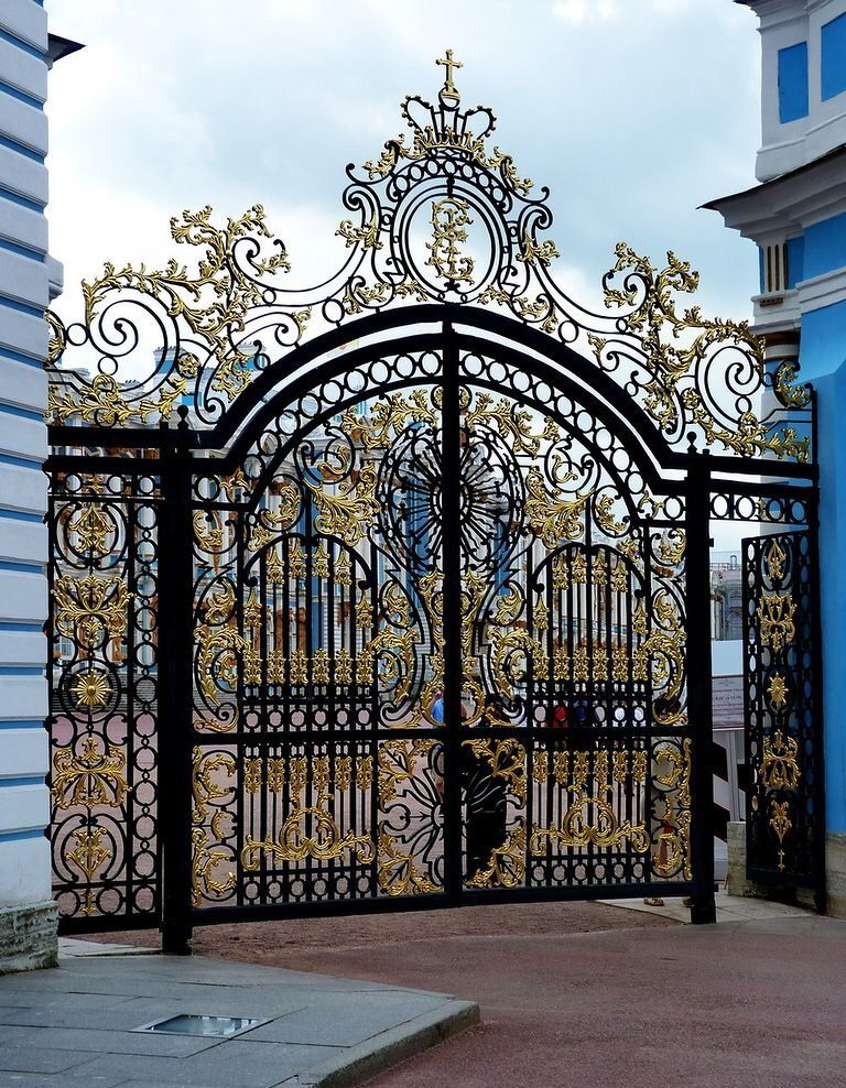 Luxury Decorative Door Main Gate Design Gate Design Iron Gate Design