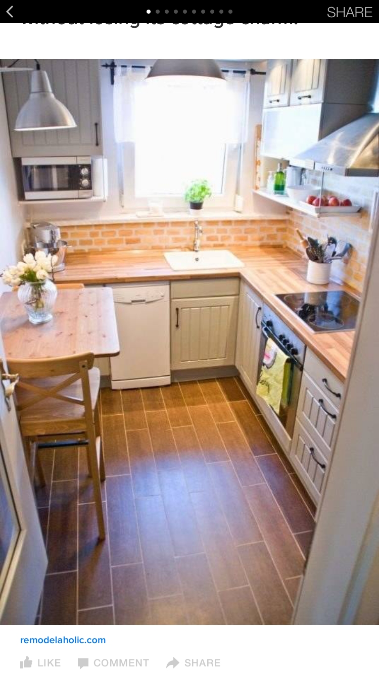 9 Designs Perfect for Your Small Kitchen kitchen ...