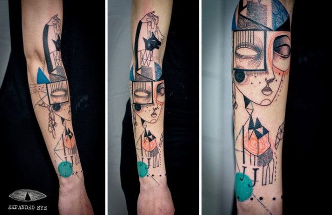 Cubism And Tattoos The Famous Art And Creativity With Images