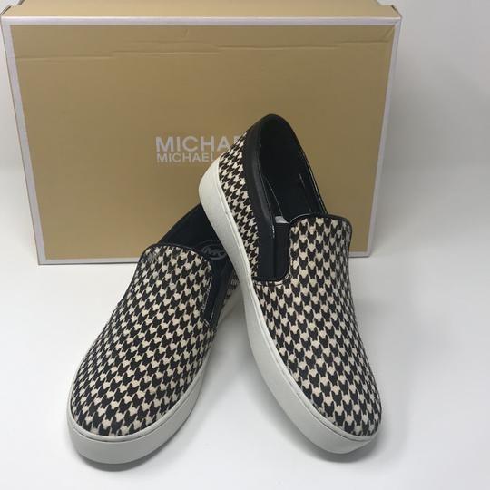 dd915586a07b8 MICHAEL Michael Kors Black White Keaton Slip On Flats Size US 7 Regular (M