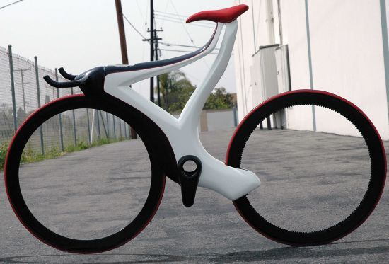 Glide Track Bike by Michael Shrewsbury