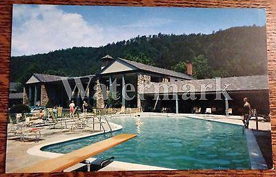 Temperature In Pigeon Forge Tennessee >> Vintage GATLINBURG TENNESSEE TN The Riverside Hotel Chrome Era Postcard | Vintage Pigeon Forge ...