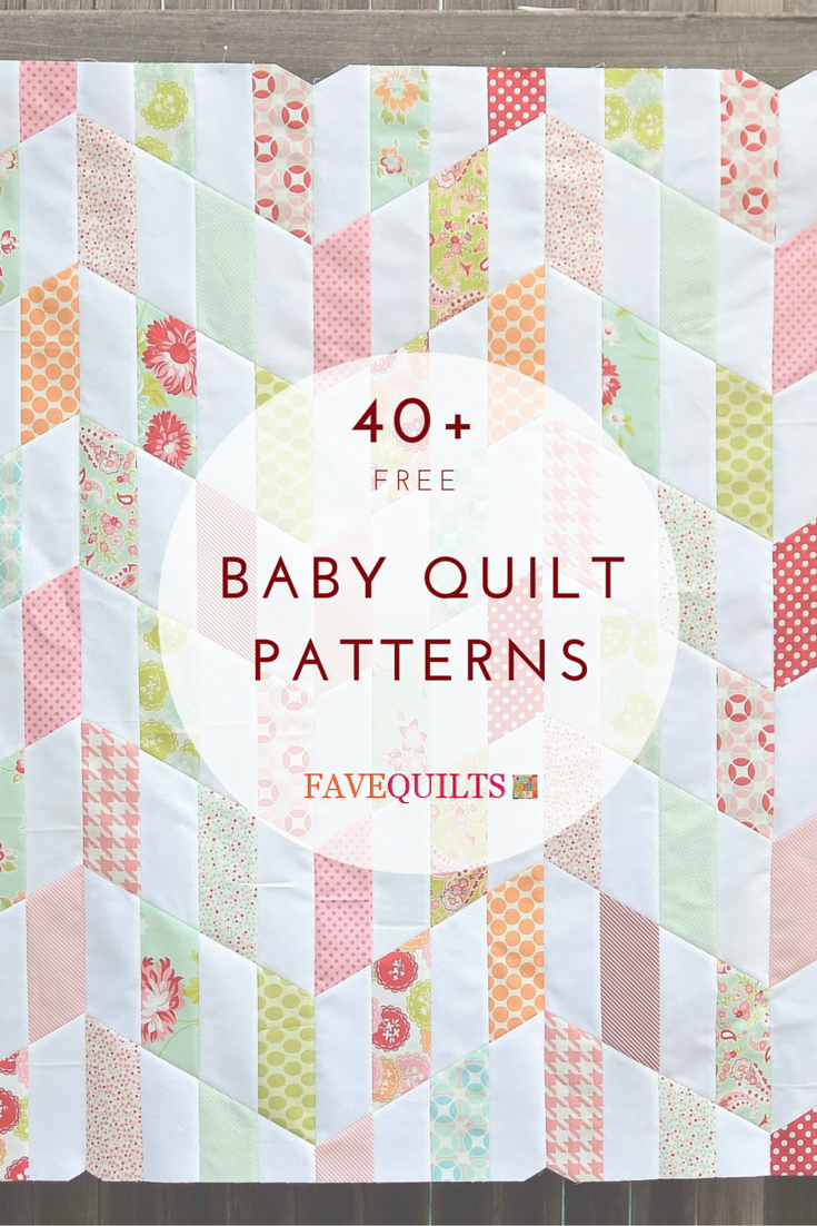 40+ Free Baby Quilt Patterns | Free baby quilt patterns, Baby ... : baby quilt designs ideas - Adamdwight.com