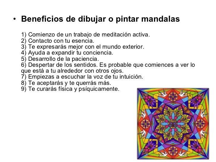 Beneficios Mandalas Buscar Con Google Mandalas Significado