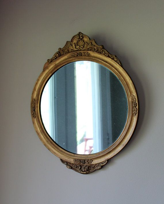 Image Result For Antique Round Mirror