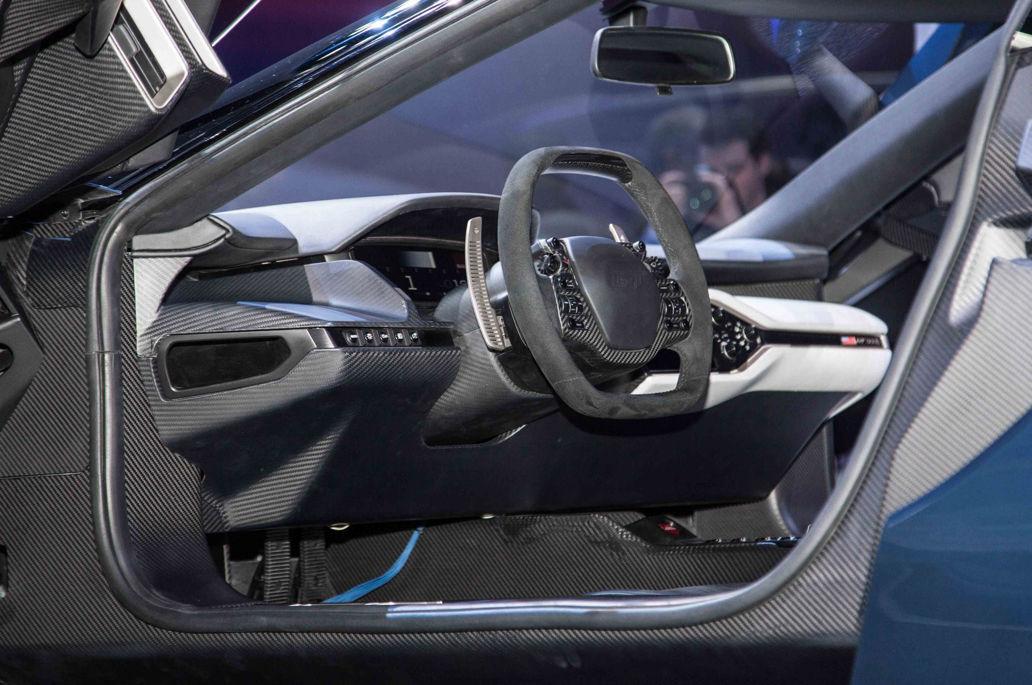 Ford Gt At 2017 Detroit Auto Show Interior