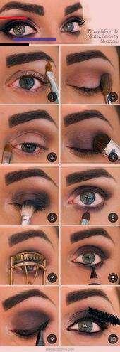 50 Perfect Makeup Tutorials for Green Eyes  The Goddess   #eyes #Goddess #gr Bla…