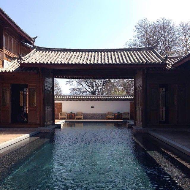 #amanresorts #amanjunkie #china #LiJiang #YunNan #spa #pool #AmanDayan