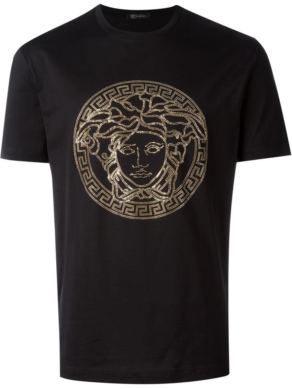 mens versace medusa t shirt
