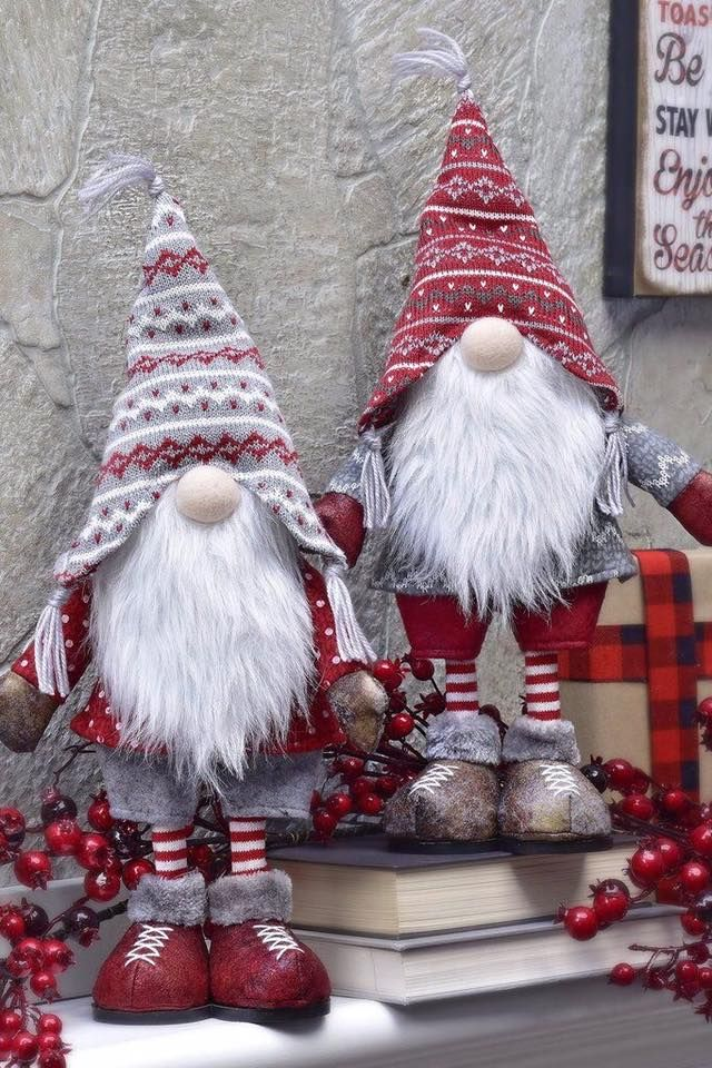 Gnomes by Connie C Jones Christmas crafts, Handmade