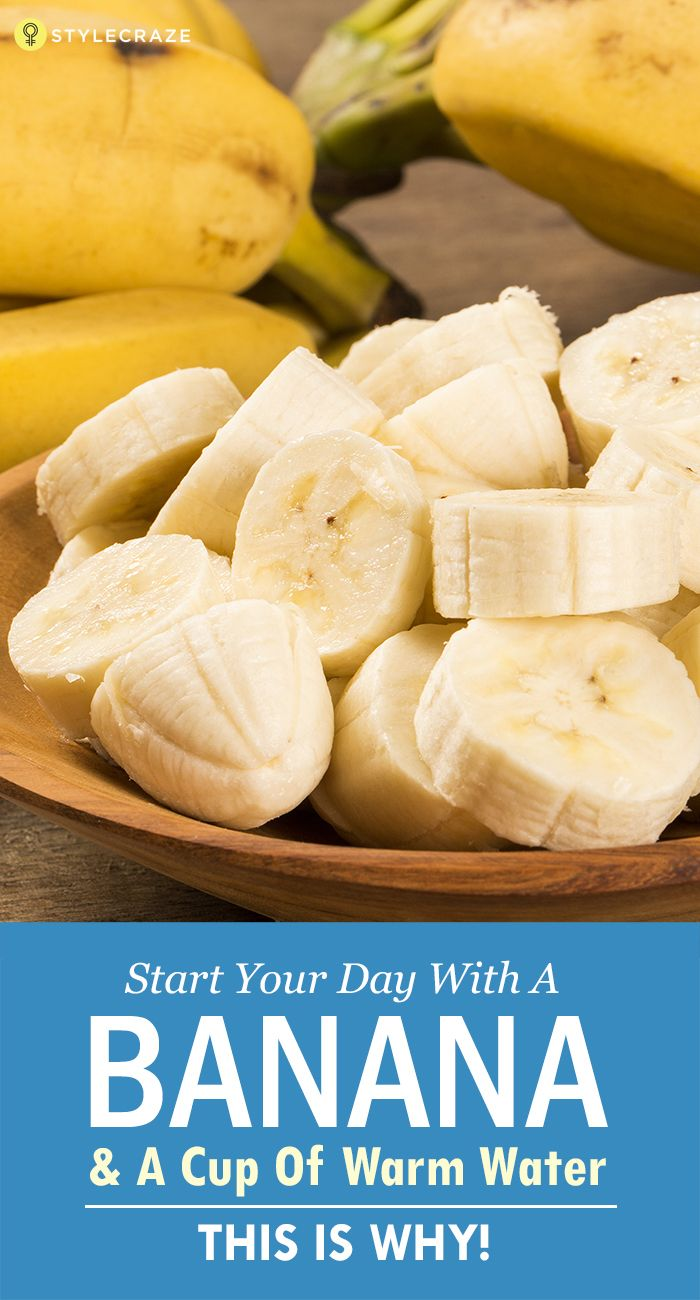 banana and warm water diet
