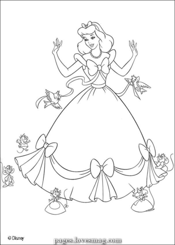 Fantastic Cinderella Drawings For Printing And Coloring Cinderella Coloring Pages Disney Princess Coloring Pages Princess Coloring Pages