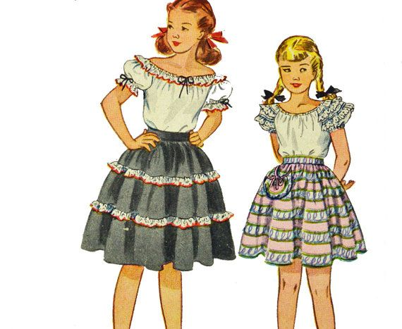 What is a Tyrolean Peasant Skirt?