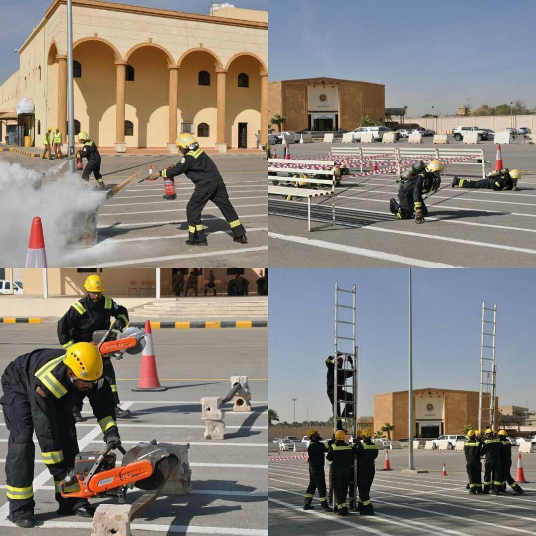 مركز تدريب الدفاع المدني بـ الرياض يعقد مسابقة لمنسوبي الدورة التأهيلية للفرد الأساسي وتهدف إلى تعزيز
