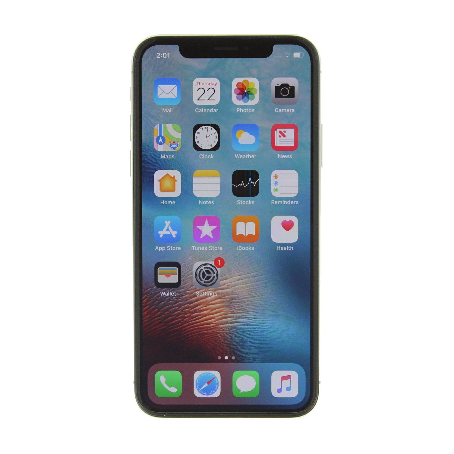 729.99 Apple iPhone X a1901 64GB GSM Unlocked apple