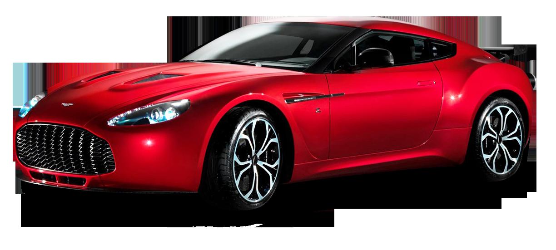 Aston Martin V12 Zagato Red Sports Car Red Sports Car Aston Martin Sports Car
