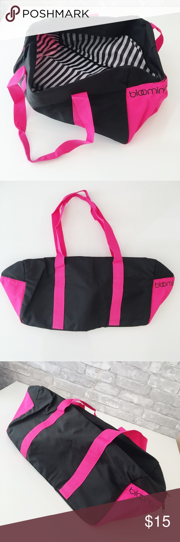 Brand New Bloomingdale s Gym Bag 100% new Length around 25.5in  width 10in  3f8c5346d665c