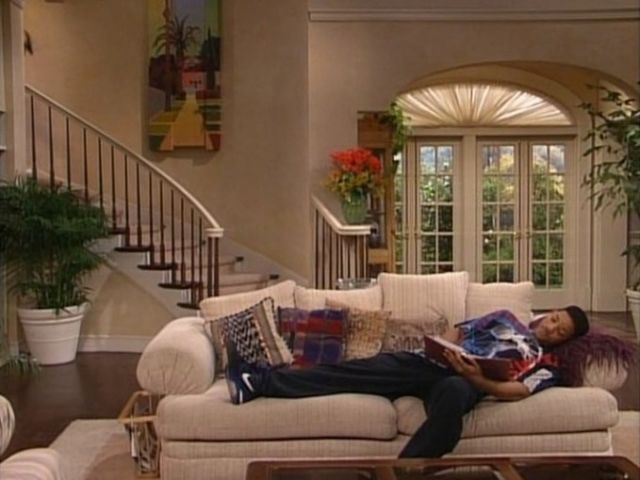 The 30 Most Beautiful Homes Ever Featured On Tv Shows Bel Air House Fresh Prince Of Bel Air Dream House Rooms