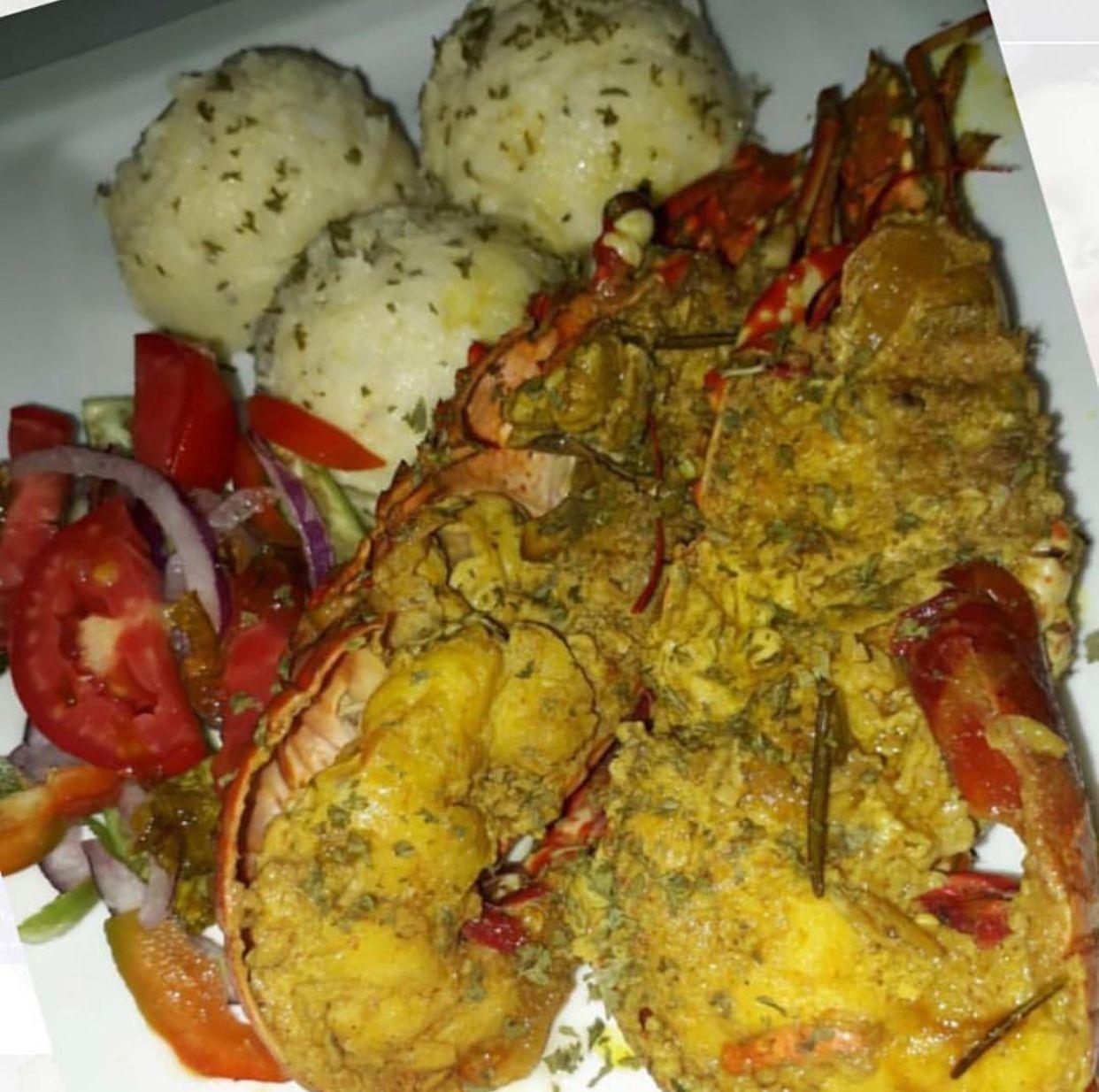 Curry lobster Restaurant new york, Food