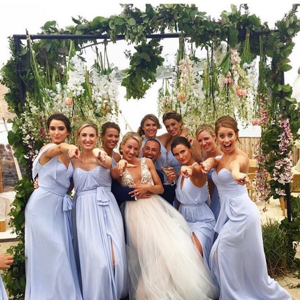 Bridesmaids Love! Ines Di Santo 'Song' Gown Photographer