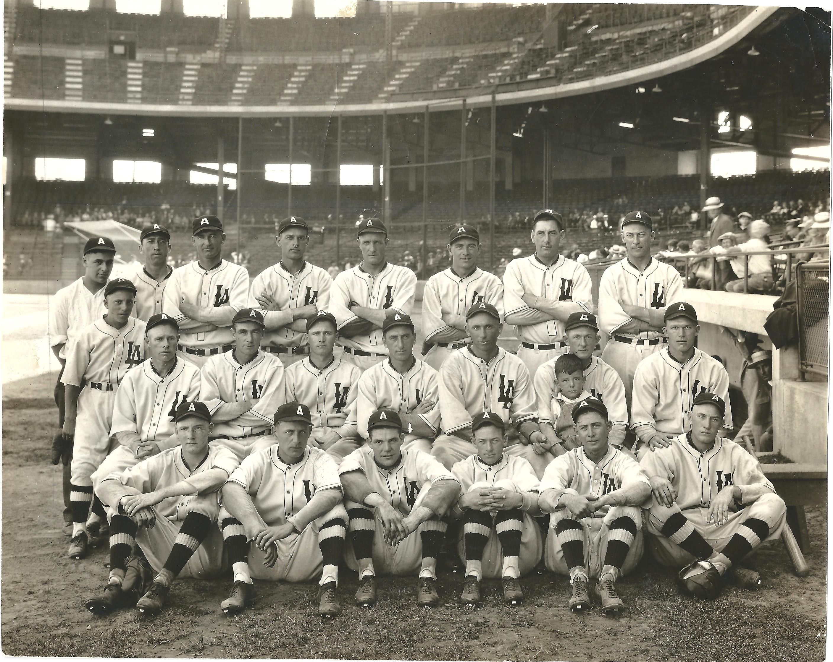 1926 Los Angeles Angels The Old Pacific Coast League Team No Relation To The Major Leagu Anaheim Angels Baseball Angels Baseball Los Angeles Angels Baseball