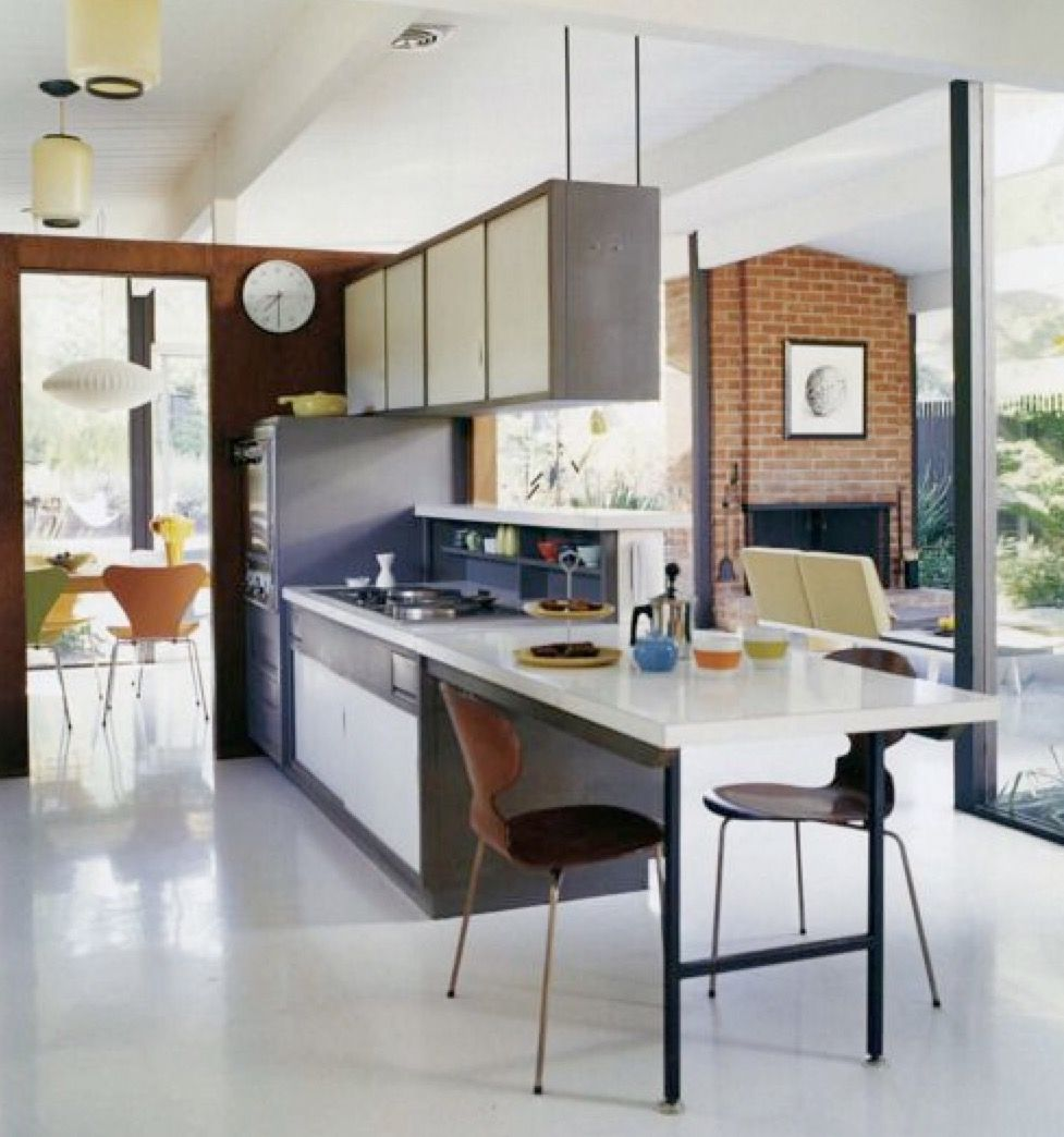 mid century design eichler houselinoleum flooringlinoleum