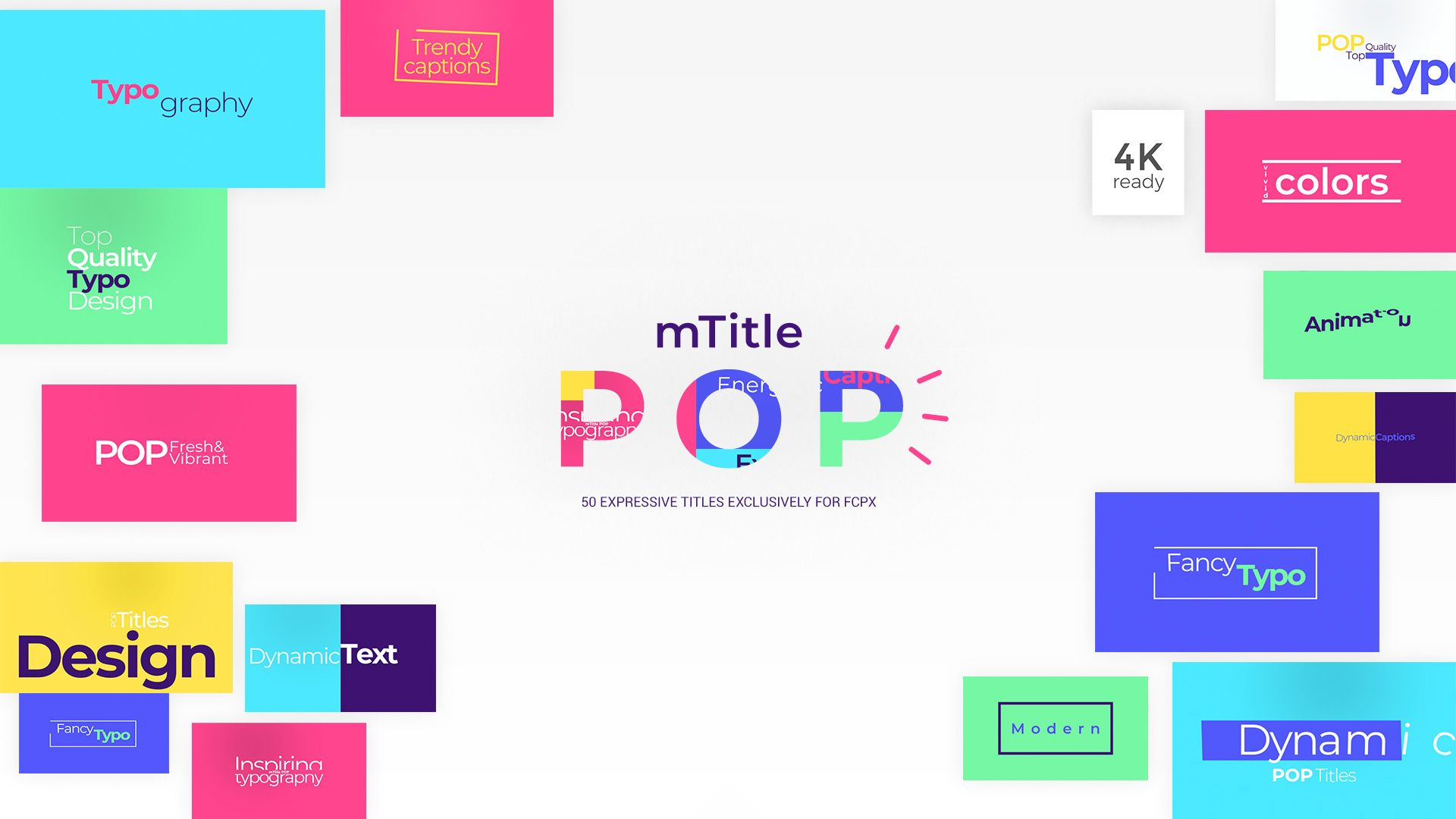 NEW FCPX PLUGIN! Introducing mTitle POP http//bit.ly