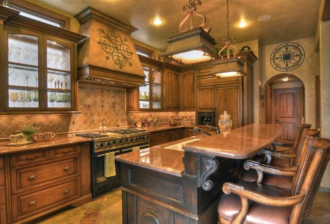 Interior Design Style Tuscan Kitchen Characteristics Inspired