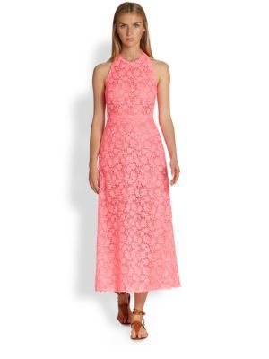 Valentino - Tonal Lace Dress - Saks.com