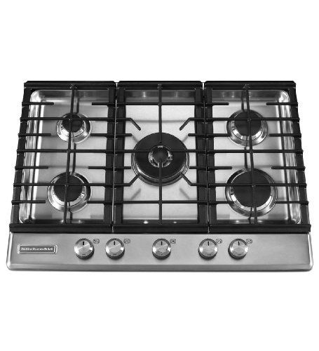 Kitchenaid Architect Series Ii Kfgs306vss 30 Gas Cooktop With 5 Sealed Burners Stainless Steel Http Www Amazon Com Dp B0 Gas Cooktop Kitchen Aid Cooktop