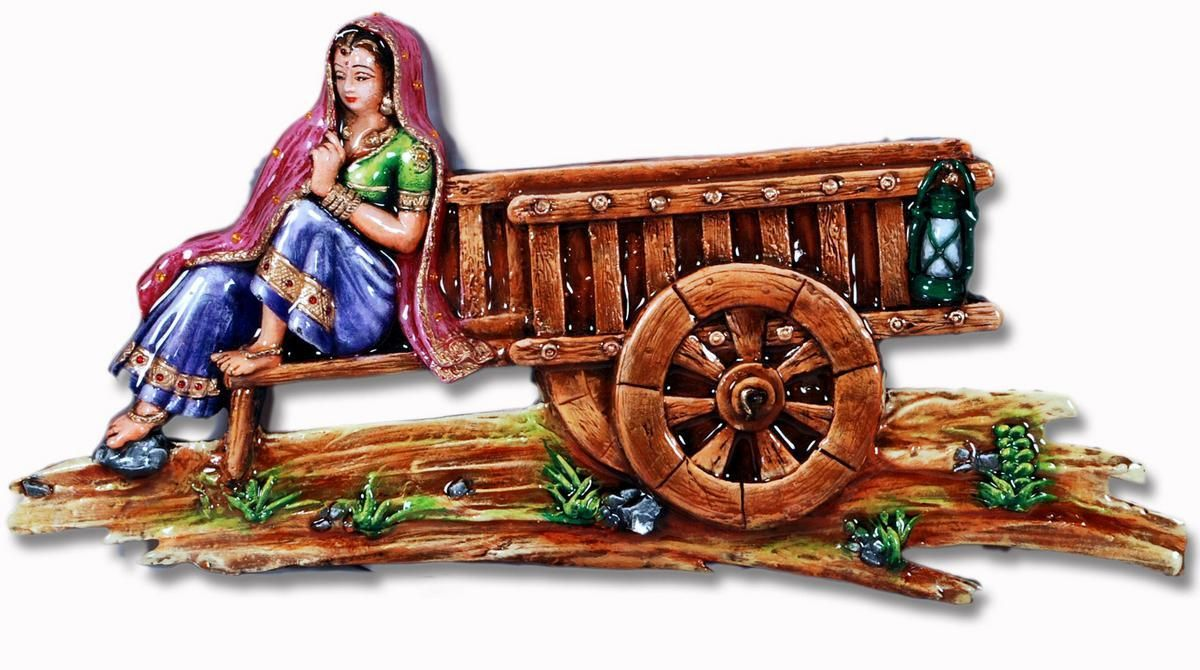 Rajasthani wall painting rajasthani arts crafts for 3d mural art in india