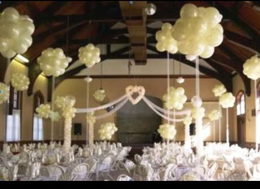Balloon Centerpiece Wedding Pinterest A Well Wedding And