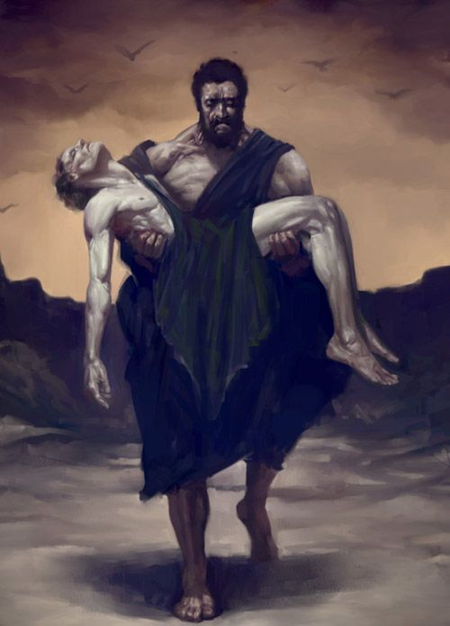 Cain and Abel- The Duality of Man' | Pinturas, Cain y abel, Arte