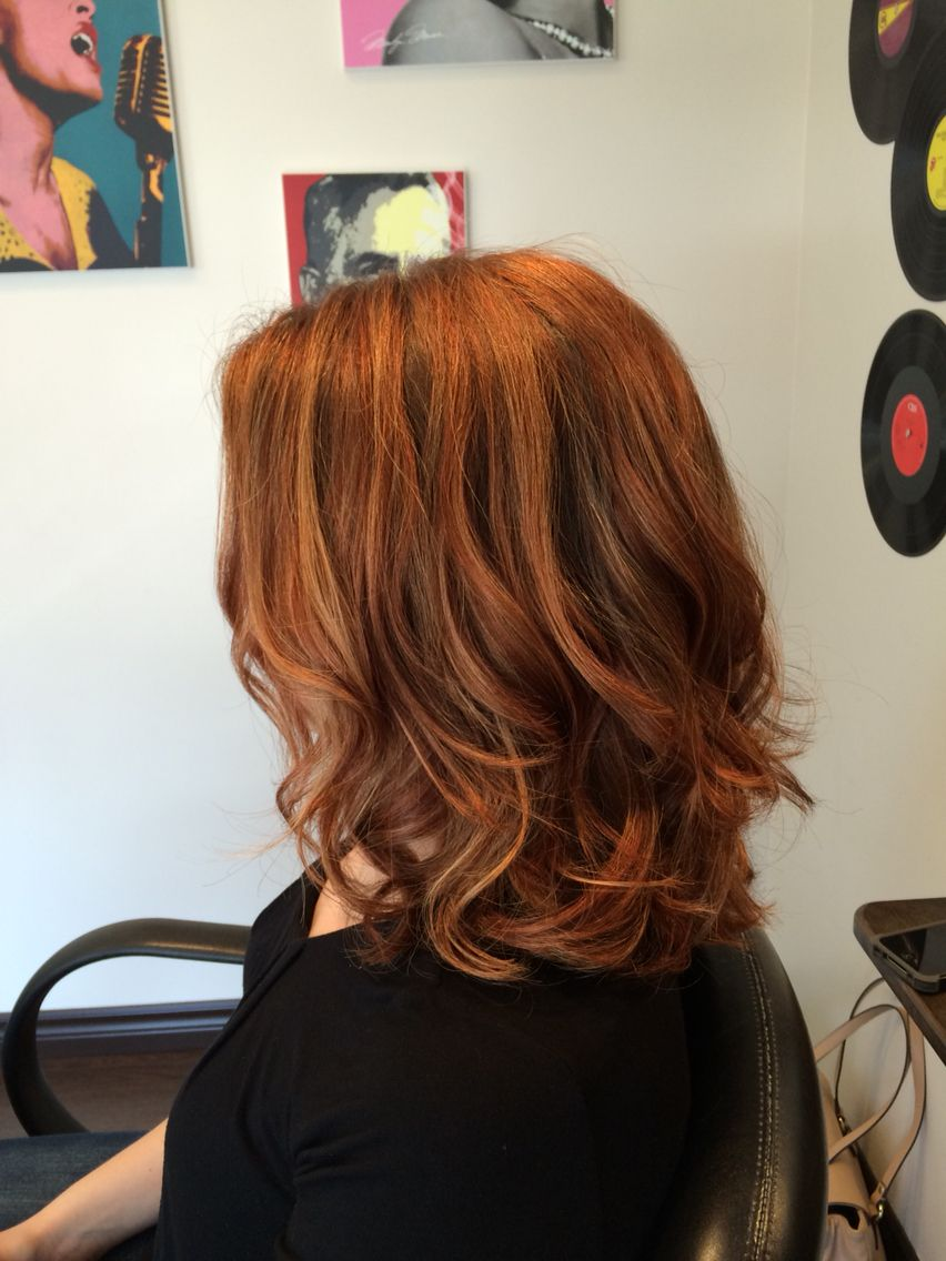 Beautiful copper balayage Hair and beauty Pinterest Copper