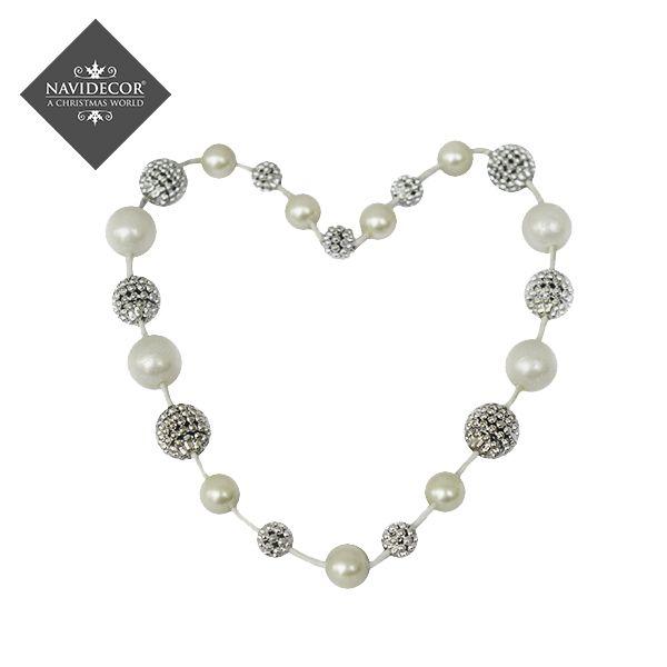 Corazón de perlas