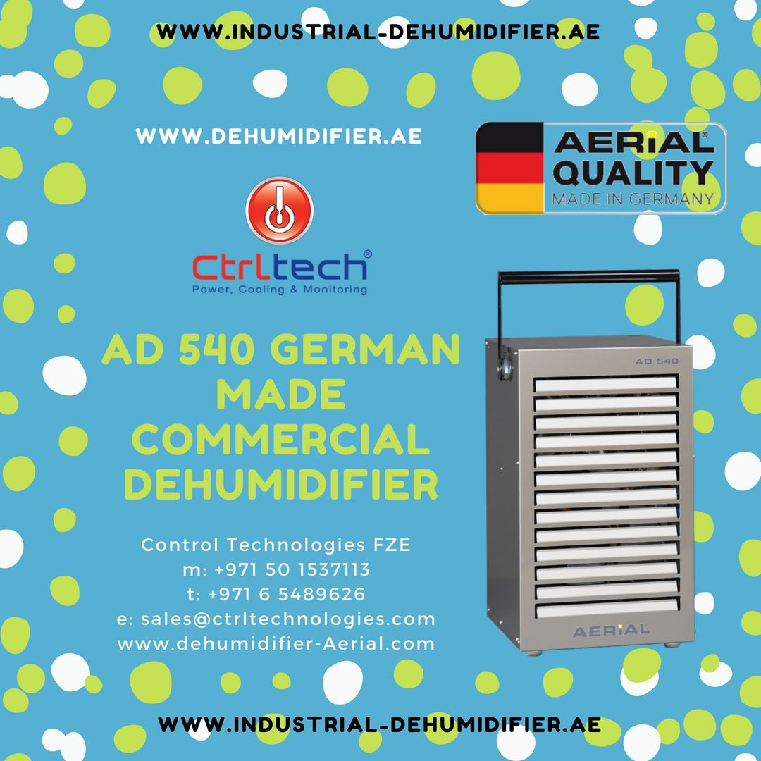 AD 540 Commercial dehumidifier Systems. Dehumidifiers