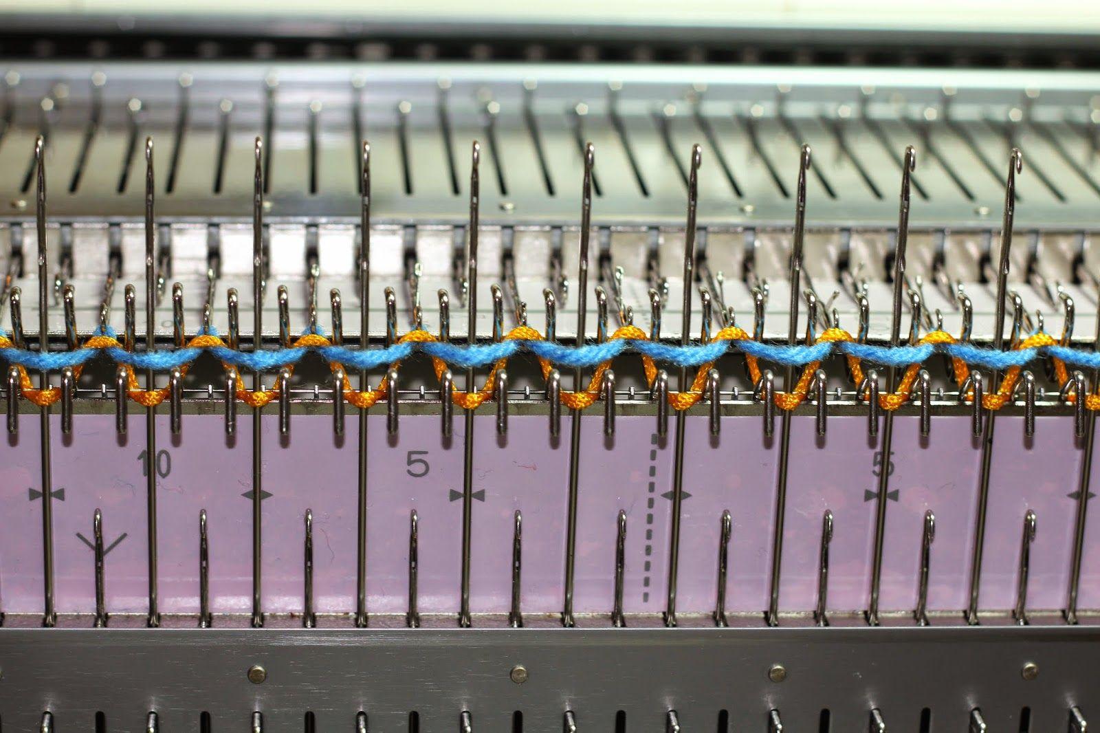 Tom machine knitting guy beautiful neat ribber cast on tom machine knitting guy beautiful neat ribber cast on knitting blogs knitting tutorialsknitting patternsbrother bankloansurffo Images